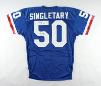 """Mike Singletary Signed Pro Bowl Game-Worn Jersey Inscribed """"Game Worn"""" & """"Pro Bowl"""" (Singletary LOA & Beckett COA) (See Description) at PristineAuction.com"""