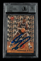 Shaquille O'Neal Signed 1992-93 Ultra All-Rookies #7 RC (BGS Encapsulated) at PristineAuction.com
