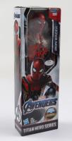 "Eric Bauza Signed ""Avengers"" Iron Spider Action Figure (PSA Hologram) (See Description) at PristineAuction.com"