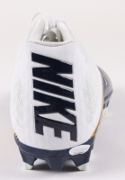 Aaron Donald Signed Nike Football Cleat (JSA COA) at PristineAuction.com