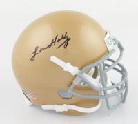 Lou Holtz Signed Notre Dame Fighting Irish Mini-Helmet (JSA COA) at PristineAuction.com