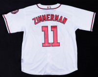 Ryan Zimmerman Signed Nationals Jersey (Beckett COA) (See Description) at PristineAuction.com