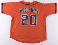 Chas McCormick Signed Jersey (Beckett Hologram) at PristineAuction.com
