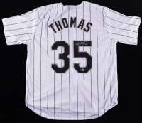 Frank Thomas Signed Jersey (Beckett Hologram) at PristineAuction.com