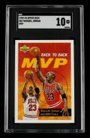 Michael Jordan 1992-93 Upper Deck #67 MVP (SGC 10) at PristineAuction.com