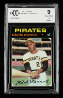 Roberto Clemente 1971 Topps #630 (BCCG 9) at PristineAuction.com