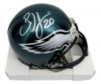 Brian Dawkins Signed Eagles Mini-Helmet (JSA COA) at PristineAuction.com