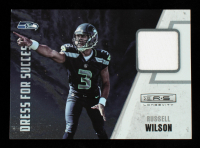 Russell Wilson 2012 Rookies and Stars Longevity Dress for Success Jerseys #34 at PristineAuction.com