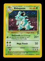 Nidoqueen 2000 Pokemon Base 2 Unlimited #12 HOLO at PristineAuction.com