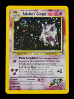 Sabrina's Gengar 2000 Pokemon Gym Heroes Unlimited #14 HOLO at PristineAuction.com