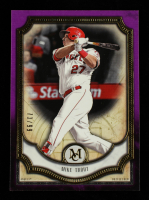 Mike Trout 2018 Topps Museum Collection Amethyst #3 #73/99 at PristineAuction.com