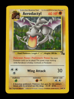 Aerodactyl 1999 Pokemon Fossil Unlimited #1 HOLO at PristineAuction.com