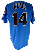 """Pete Rose Signed Jersey Inscribed """"80 WS Champs"""" (JSA COA) at PristineAuction.com"""