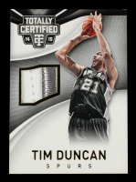 Tim Duncan 2014-15 Totally Certified Jerseys Gold #70 #10/10 at PristineAuction.com