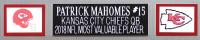Patrick Mahomes Signed 35x43 Custom Framed Jersey (JSA COA) at PristineAuction.com