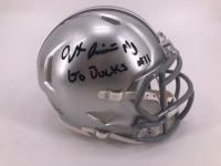 Jaxon Smith-Njigba Signed Ohio State Buckeyes Speed Mini-Helmet (JSA COA) at PristineAuction.com