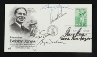 Golf Legends 1981 FDC Envelope Signed By (6) With Sam Snead, Gene Sarazen, Jack Nicklaus, Arnold Palmer, Byron Nelson & Gary Player (Beckett LOA) at PristineAuction.com