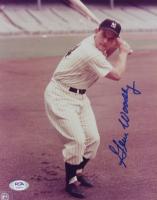 Gene Woodling Signed Yankees 8x10 Photo (PSA COA) at PristineAuction.com