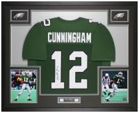 Randall Cunningham Signed 35x43 Custom Framed Jersey (Beckett COA) at PristineAuction.com