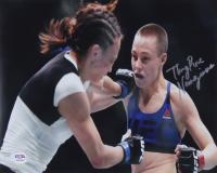 """Thug"" Rose Namajunas Signed UFC 8x10 Photo (PSA COA) at PristineAuction.com"