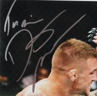 "Dustin Poirier Signed 8x10 Photo Inscribed ""The Diamond"" (PSA COA) at PristineAuction.com"