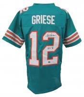 "Bob Griese Signed Jersey Inscribed ""HOF '90"" (Beckett Hologram) at PristineAuction.com"