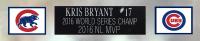 Ryne Sandberg Signed Cubs 35x43 Custom Framed Jersey Display with Multiple Inscriptions (TriStar Hologram) at PristineAuction.com