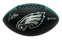 "Brandon Graham Signed Eagles Logo Football Inscribed ""SB LII Champs"" (JSA COA) at PristineAuction.com"