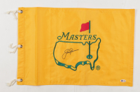 Jack Nicklaus Signed Masters Tournament Pin Flag (Beckett LOA) at PristineAuction.com