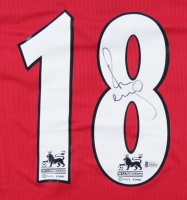 Paul Scholes Signed Manchester United Jersey (Beckett COA) at PristineAuction.com