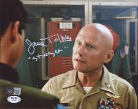 "James Tolkan Signed ""Top Gun"" 8x10 Photo Inscribed ""Stinger"" (PSA COA & Beckett COA) at PristineAuction.com"