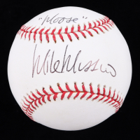 "Mike ""Moose"" Mussina Signed OML Baseball (JSA COA) at PristineAuction.com"
