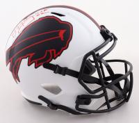 Jim Kelly Signed Bills Full-Size Lunar Eclipse Alternate Speed Helmet (JSA COA) (See Description) at PristineAuction.com