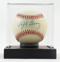 Lefty Gomez Signed OAL Baseball with Display Case (PSA COA) (See Description) at PristineAuction.com