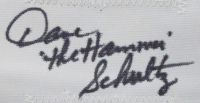"""Dave """"The Hammer"""" Schultz Signed Jersey (JSA COA) at PristineAuction.com"""
