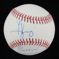 """George Jung Signed OML Baseball Inscribed """"Boston George"""" (AutographCOA Hologram) at PristineAuction.com"""