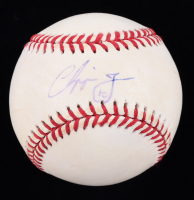 Chipper Jones Signed ONL Baseball (JSA COA) (See Description) at PristineAuction.com