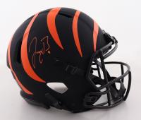 Joe Burrow Signed Bengals Full-Size Authentic On-Field Eclipse Alternate Speed Helmet (Fanatics Hologram) (See Description) at PristineAuction.com