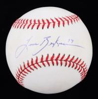 Lance Berkman Signed OAL Baseball (JSA COA) (See Description) at PristineAuction.com