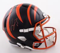 Joe Burrow Signed Bengals Full-Size Blaze Alternate Speed Helmet (Fanatics Hologram) (See Description) at PristineAuction.com