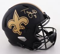 Taysom Hill Signed Saints Full-Size Eclipse Alternate Speed Helmet (Beckett COA) at PristineAuction.com