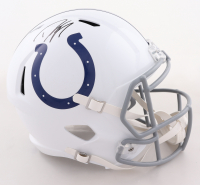 Dwight Freeney Signed Colts Full-Size Speed Helmet (Radtke COA) at PristineAuction.com