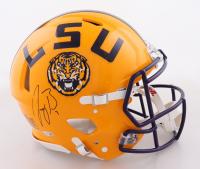 Joe Burrow Signed LSU Tigers Full-Size Authentic On-Field Helmet (Fanatics Hologram) at PristineAuction.com