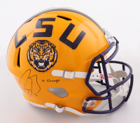 """Joe Burrow Signed LSU Tigers Full-Size Speed Helmet Inscribed """"19 Champs"""" (Fanatics Hologram) at PristineAuction.com"""