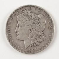 1904 Morgan Silver Dollar at PristineAuction.com