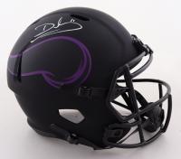 Daunte Culpepper Signed Vikings Full-Size Eclipse Alternate Speed Helmet (Radtke COA) at PristineAuction.com