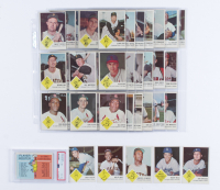 1963 Fleer Complete Set of (67) Baseball Cards with #42 Sandy Koufax, #5 Willie Mays, #56 Roberto Clemente, #43 Maury Wills, #41 Don Drysdale, #NNO Checklist (PSA 4) at PristineAuction.com