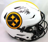 T.J. Watt Signed Steelers Full-Size Lunar Eclipse Alternate Authentic On-Field SpeedFlex Helmet (Beckett Hologram) at PristineAuction.com