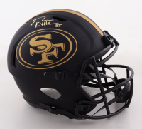 George Kittle Signed 49ers Full-Size Eclipse Alternate Speed Helmet (Beckett COA & Denver Autographs COA) (See Description) at PristineAuction.com