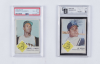 1963 Fleer Complete Set of (66) Baseball Cards with #56 Roberto Clemente (PSA 4.5), #46 Joe Adcock (GAI 6) at PristineAuction.com